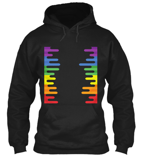 Lgbt Pride  Limited Edition Black T-Shirt Front