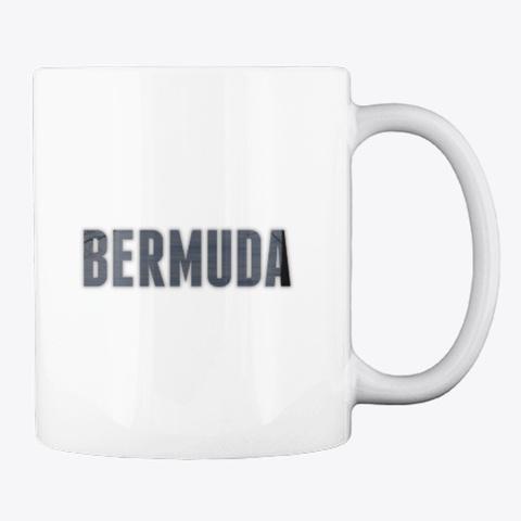 Bermuda (Extended) White T-Shirt Back