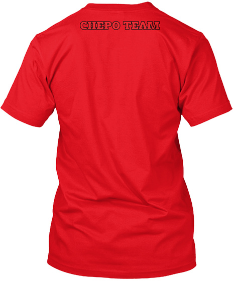Chepo Team Red T-Shirt Back
