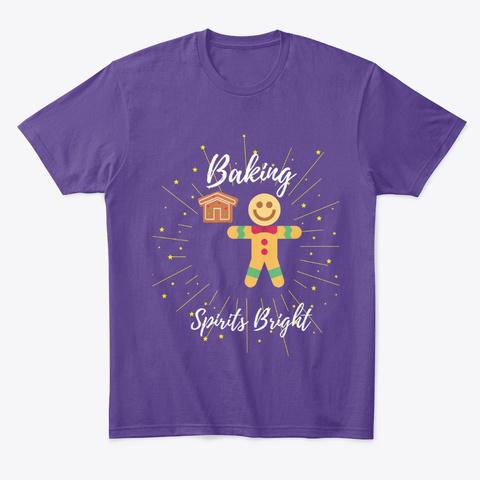Baking Spirits Bright 2 Purple T-Shirt Front