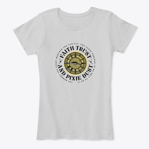 An Light Heather Grey T-Shirt Front