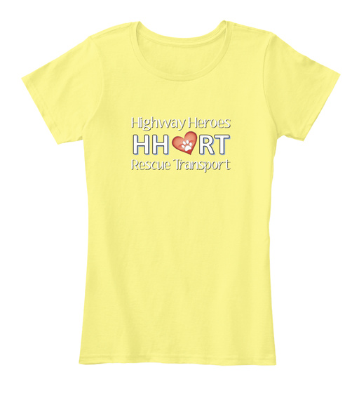 Highway Heroes Hhrt Rescue Transport Women's T-Shirt Front