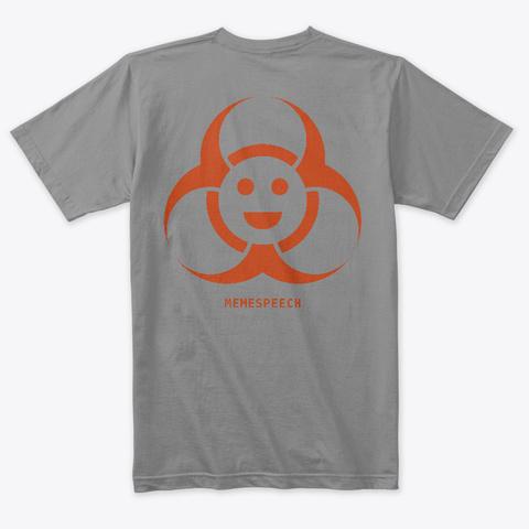 Memespeech   The Shirt! Premium Heather Maglietta Back