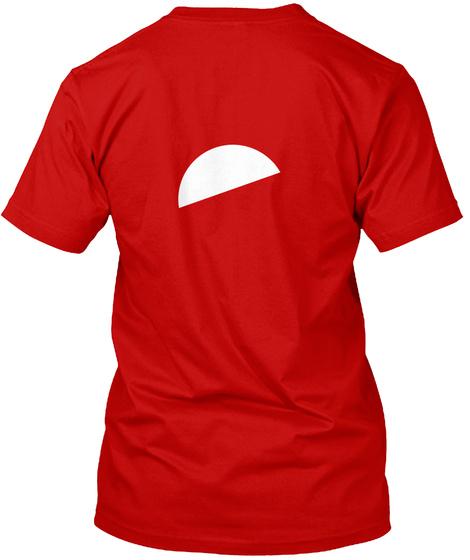 I Love Flying... Classic Red Camiseta Back