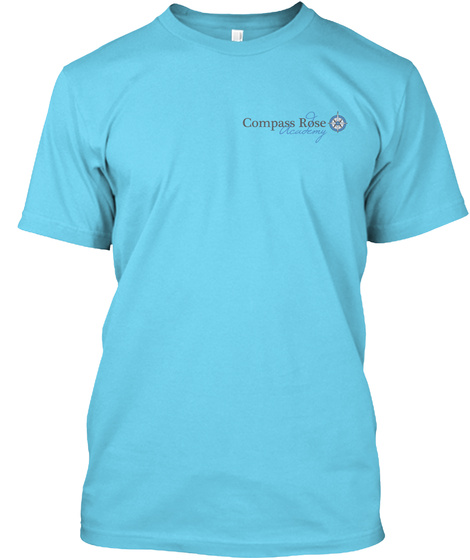 Compass Rose Academy Tahiti Blue T-Shirt Front