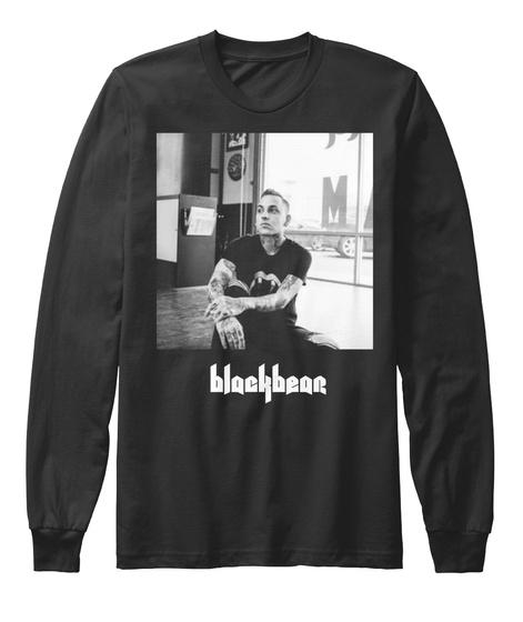 Blackbear Long Sleeve Black Long Sleeve T-Shirt Front