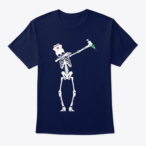 Nurse Shirt Navy T-Shirt Front