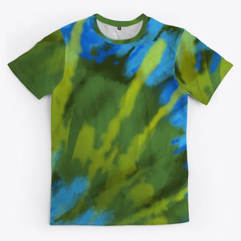 tie dye bluegrass shirt