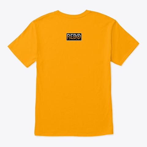 Rebo I Sqr Gold T-Shirt Back