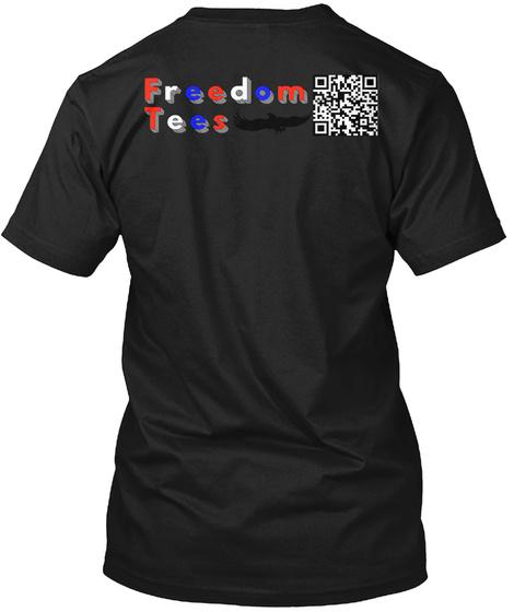 Very Fake News Network Black Camiseta Back