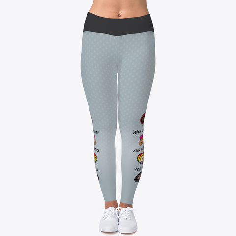 Liberty And Justice Diversity Leggings Standard T-Shirt Front