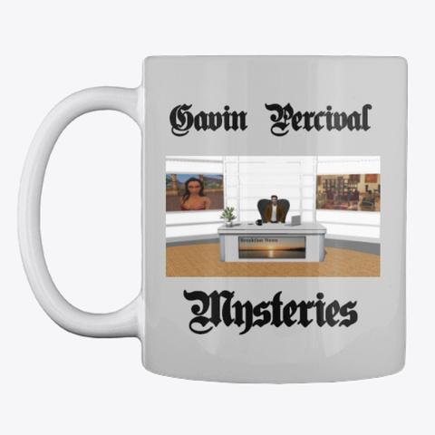 Gavin Percival Mysteries Series Light Grey T-Shirt Front