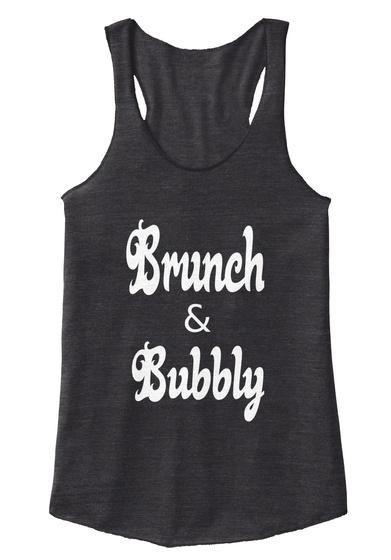 Brunch & Bubbly Eco Black T-Shirt Front