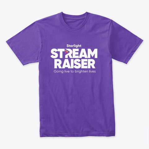 Sr Classic Purple Rush T-Shirt Front