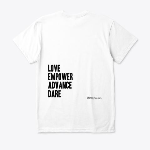 Lead Classic T  White T-Shirt Back