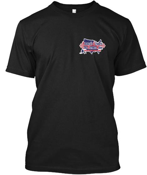 Auldr Black T-Shirt Front