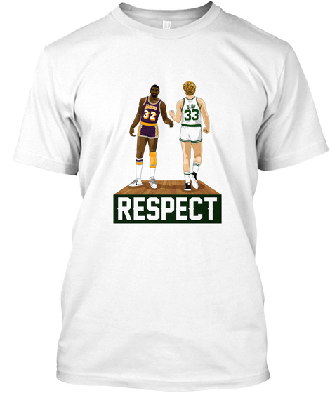 32 33 Respect White T-Shirt Front