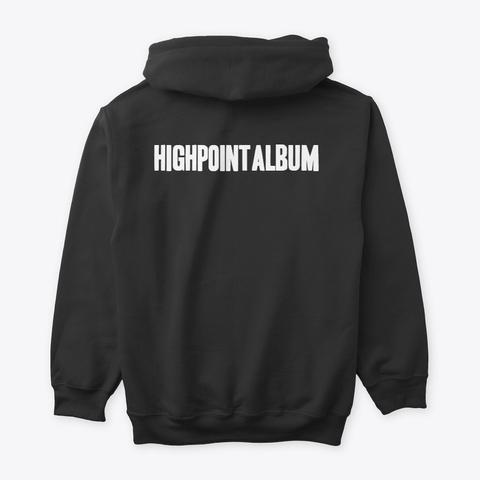 High Point Album Clothing Black T-Shirt Back