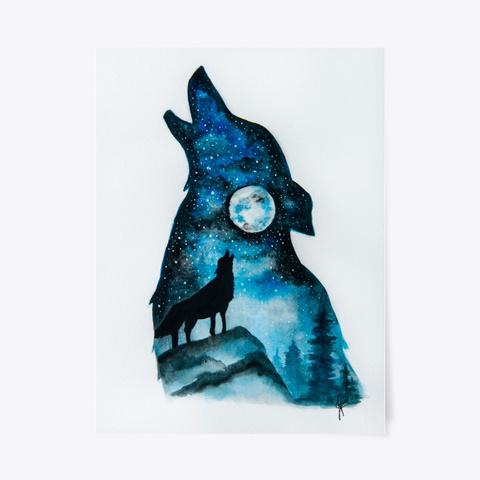 Howling Wolf Standard T-Shirt Front