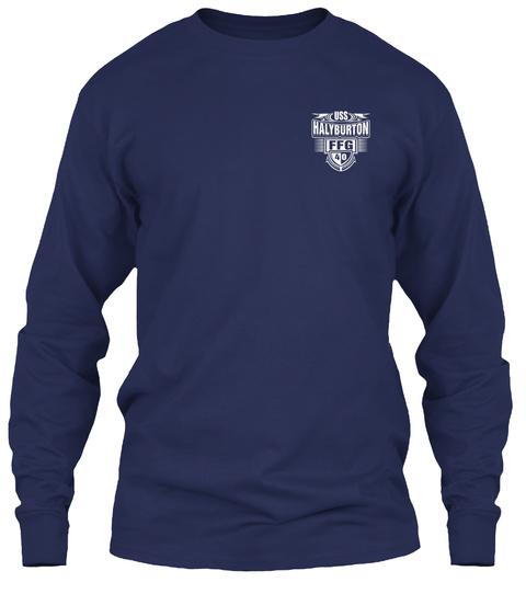 Uss Halyburton Ffg 40 Navy Long Sleeve T-Shirt Front
