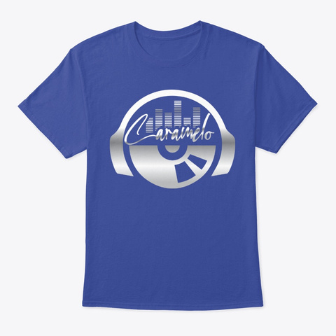 Caramelo's Freestyle Gear Deep Royal T-Shirt Front