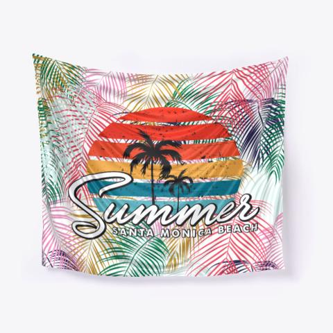 Summer In Santa Monica Beach Standard T-Shirt Front