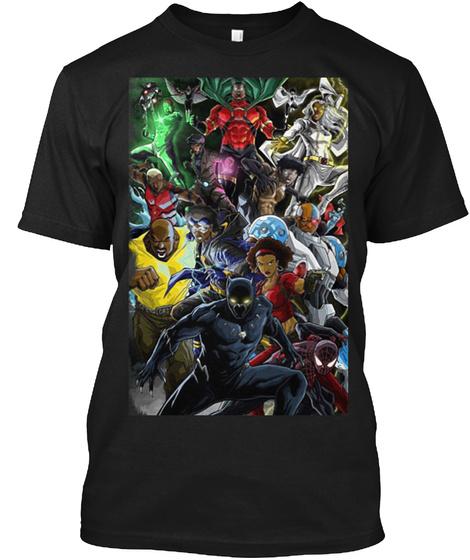Black Heroes Black T-Shirt Front