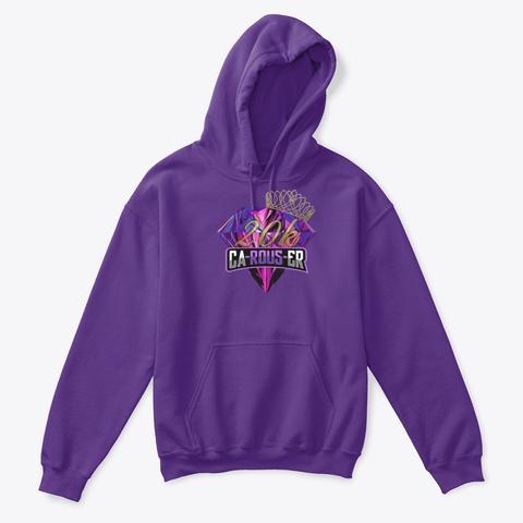 20k Queen Kids Purple T-Shirt Front