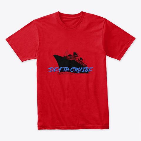 Wg3: Death Cruise T Shirt Red T-Shirt Front
