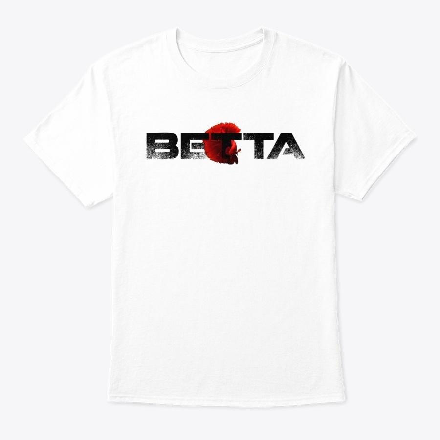 Betta Fish Siamese Fighting Fish Design Unisex Tshirt