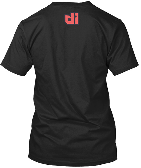 Di Black T-Shirt Back