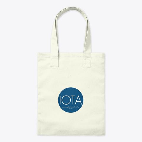 Indiana Ot Association Merchandise Natural T-Shirt Front