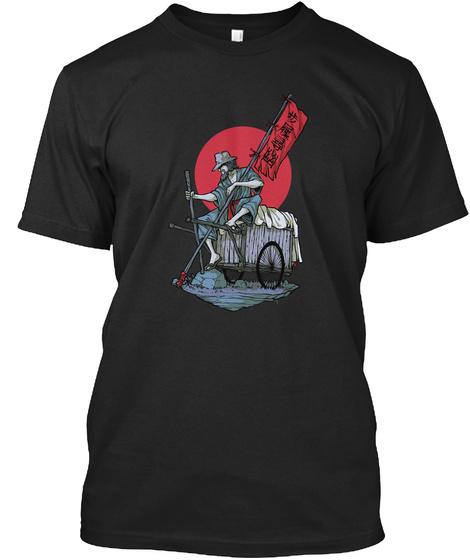 The Longest Warrior Black T-Shirt Front