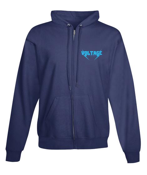 Voltage Navy  T-Shirt Front