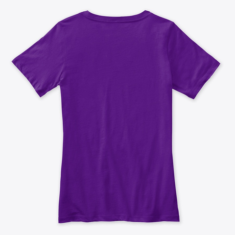 What's Good Games Gear Team Purple  T-Shirt Back