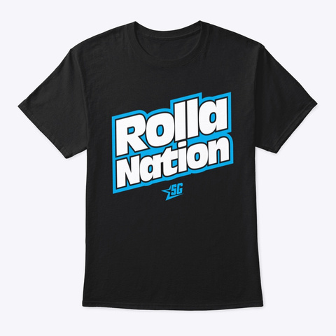 Rollanation Corolla Car Club Black T-Shirt Front
