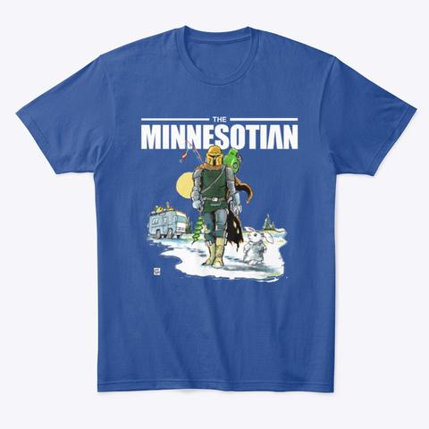 Minnesotian Deep Royal T-Shirt Front