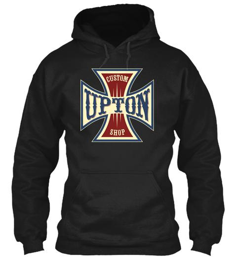 Upton Custom Shop Black T-Shirt Front