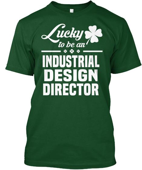 Industrial Design Director Deep Forest T-Shirt Front