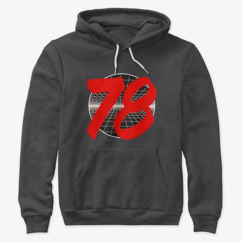 78 Dark Grey Heather T-Shirt Front