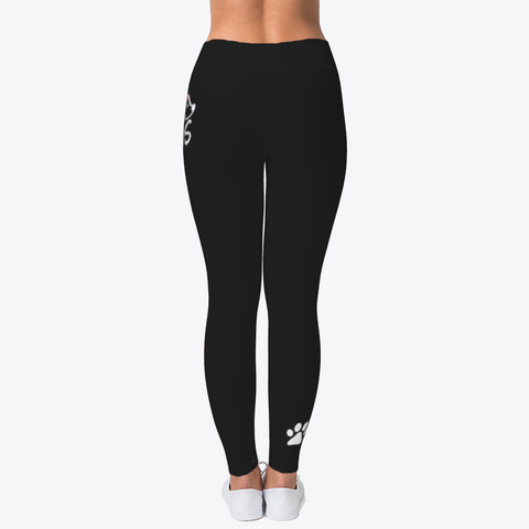 Animal Legging Black T-Shirt Back