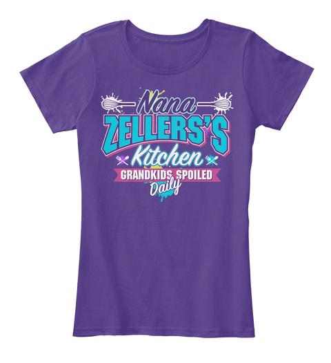 Nana Zellers's Kitchen Purple Women's T-Shirt Front