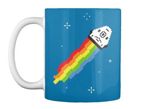Nyan Dragon Mug [Int] #Sfsf Royal Blue Mug Front