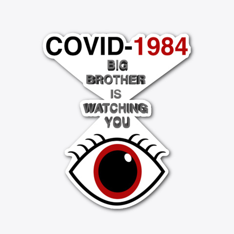 Covid 1984 Standard T-Shirt Front