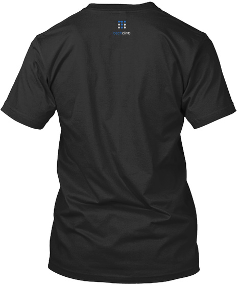 Techdirt Black T-Shirt Back