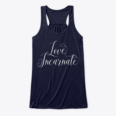 Love Incarnate | Spiritual Tee Midnight T-Shirt Front