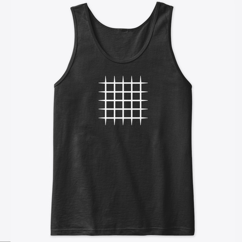 Tank Top: Blocks Black T-Shirt Front