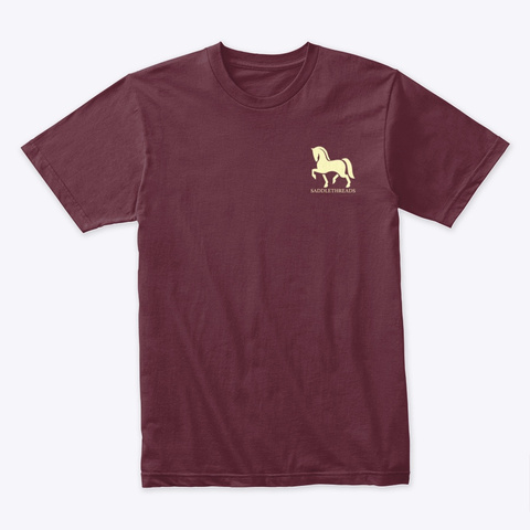 Fall Collection   Pumpkin Patch Maroon T-Shirt Front