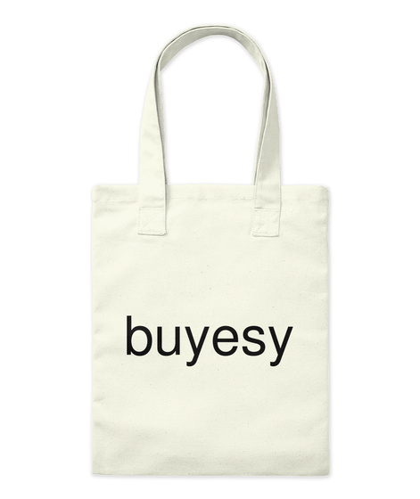 Buyesy Natural T-Shirt Front