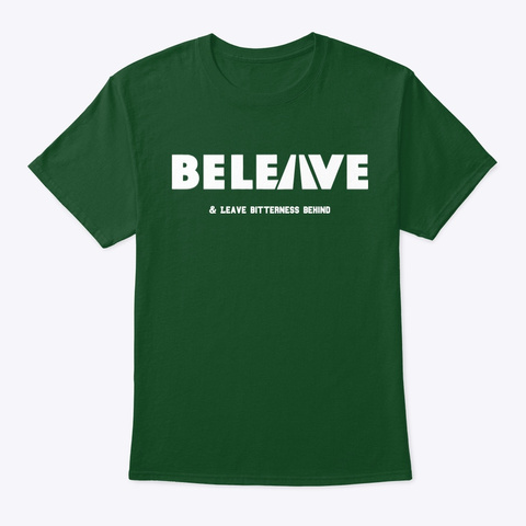 Be Leave Gear Deep Forest T-Shirt Front